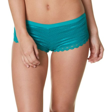 Maddie & Coco Chasing Stripe Lace Boyshort Panties