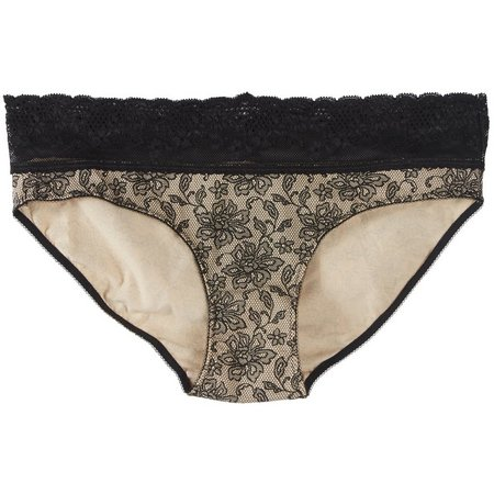Maddie & Coco Floral Lace Hipster Panties