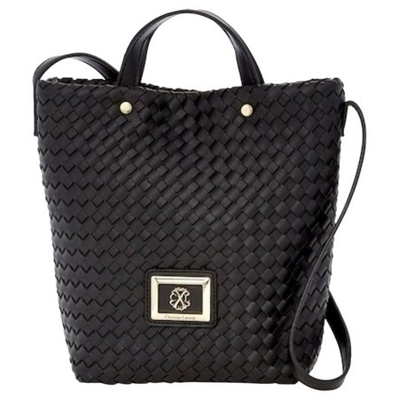 Christian LaCroix Liza Woven Shoulder Handbag