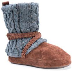 Muk Luks Womens Judie Boot Slippers