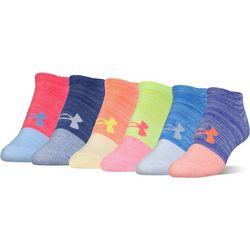 Under Armour Womens 6-pk. Essential No-Show Socks