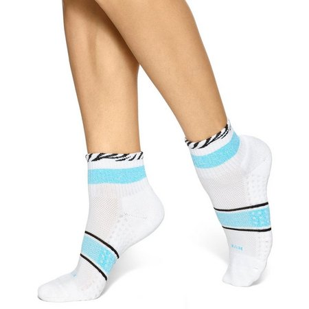 Hue Womens 3-pk. Air Cusion Stripe Crew Socks