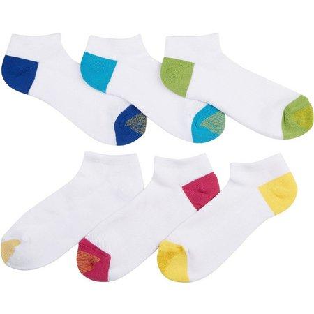 Gold Toe Womens 6-pk. Fashion Cushion Liner Socks