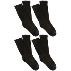 Medipeds Womens 4-pk. Diabetic Coolmax Crew Socks