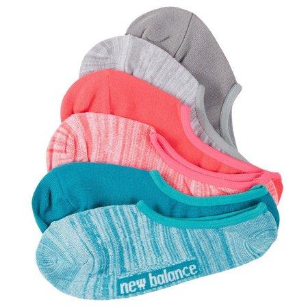 New Balance Womens 6-pk. Active No Show Socks