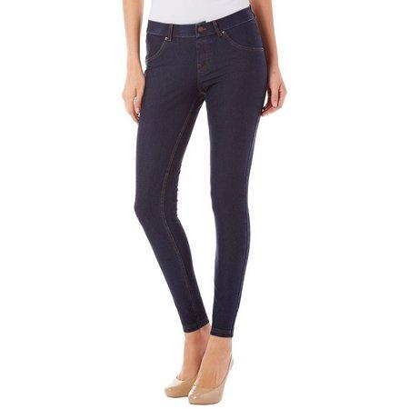 Hue Womens Essential Stretch Denim Leggings