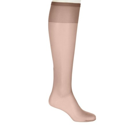 Hanes Plus Silk Reflections Knee Highs