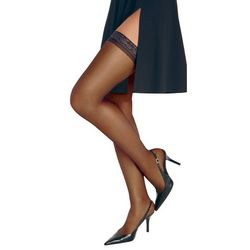 Hanes Silk Reflections Thigh High Pantyhose