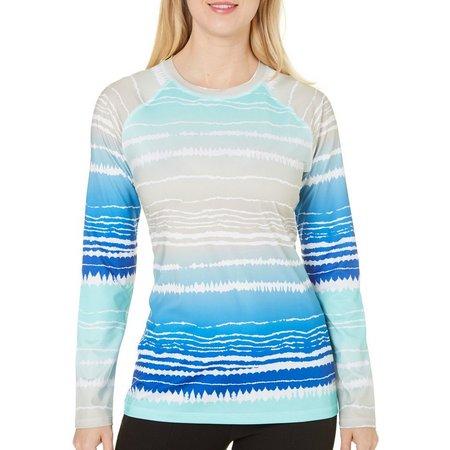Reel Legends Womens Keep It Cool Ombre Stripe