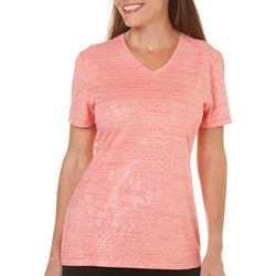 Reel Legends Womens Freeline Debossed Top