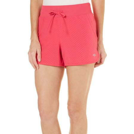 New! Reel Legends Womens Comfort Waist Scale Shorts