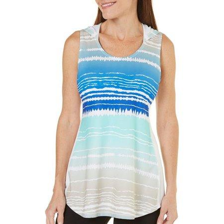 Reel Legends Womens Keep It Cool Hooded Stripe