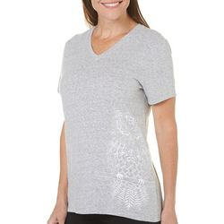Reel Legends Womens Owl Graphic T-Shirt