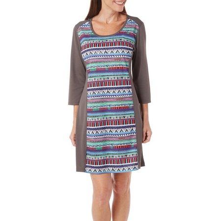 Reel Legends Freeline Tribal Print Dress