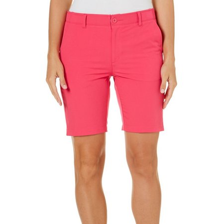 Reel Legends Womens Comfort Waist Bermuda Shorts