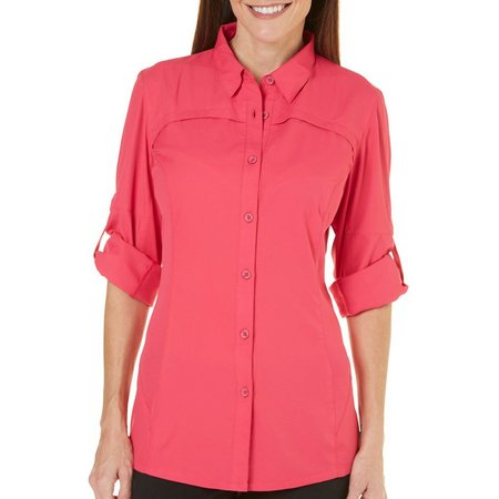 Reel Legends Womens Freewater Long Sleeves Shirt