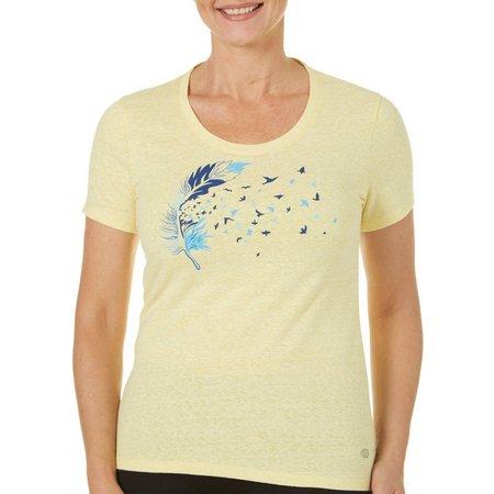 Reel Legends Womens Reel Fresh Bird T-Shirt
