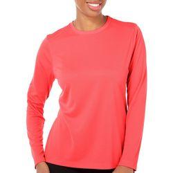 Reel Legends Womens Freeline Solid T-Shirt