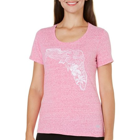 Reel Legends Womens Reel Fresh Florida T-Shirt