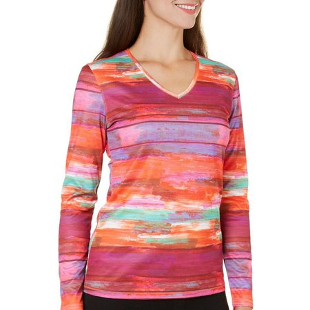 Reel Legends Womens Freeline Sunset Top