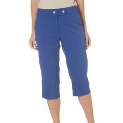 Reel Legends Womens Voyager Solid Capris