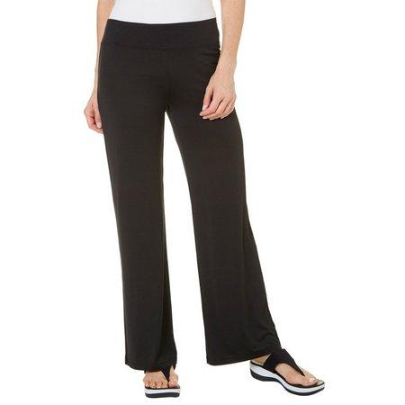 Reel Legends Womens Keep It Cool Black Pants