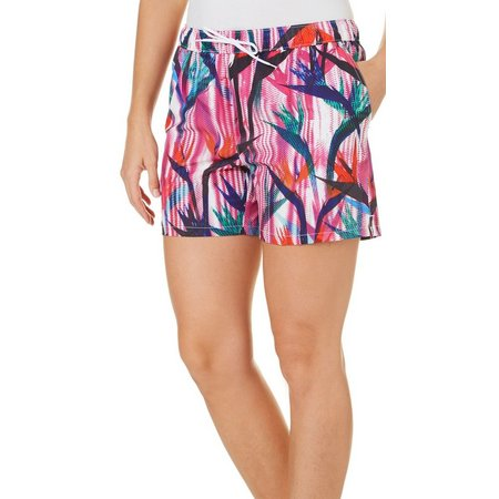 Reel Legends Womens Paradise Parade Pull-On Shorts