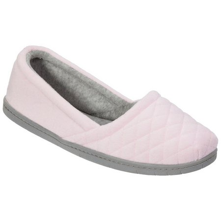 Dearfoams Womens Memory Foam Espadrille Slippers