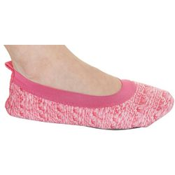 Jockey Womens Heather Pink Ballerina Slippers