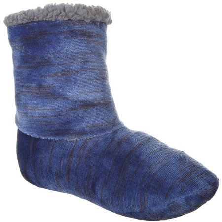 Cuddl Duds Womens Space Dyed Flannel Boots