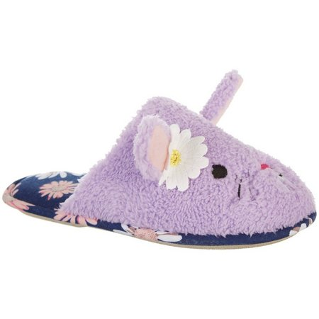 PJ Couture Womens Spring Bunny Slippers