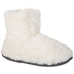 Cuddl Duds Notch Fur Boot Slipper
