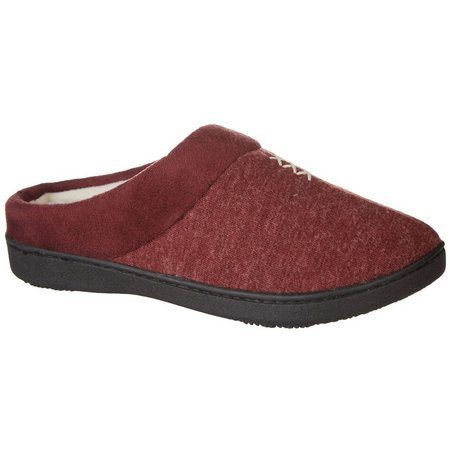 Isotoner Womens Marisol Hoodback Slippers