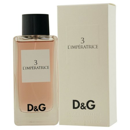 D & G 3 L'Imperatrice Womens EDT Spray
