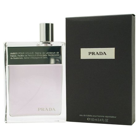 Prada Amber Mens Eau De Toilette Spray 3.4