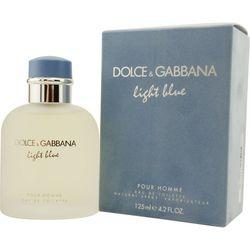 Dolce & Gabbana Mens Light Blue Edt Spray