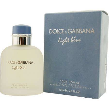 Dolce & Gabbana Mens Light Blue Edt Spray
