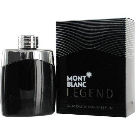 Mont Blanc Mens Legend Edt Spray 3.4 Oz