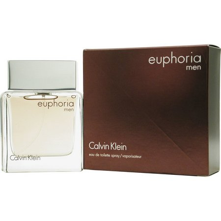Calvin Klein Mens Euphoria Men Edt Spray 3.4
