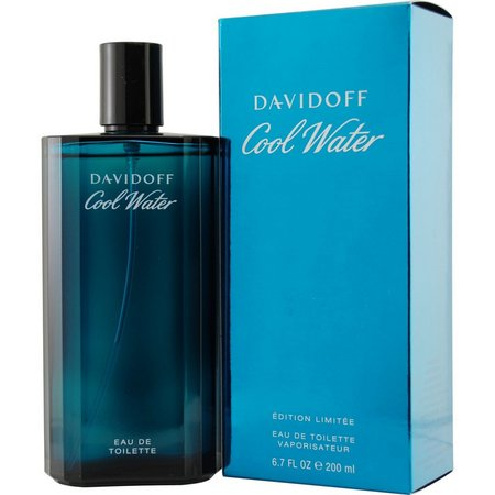 Davidoff Mens Cool Water Edt Spray 6.7 Oz