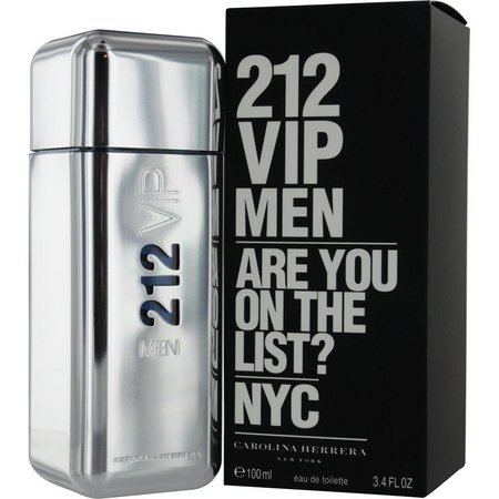 Carolina Herrera Mens 212 Vip Edt Spray 3.4