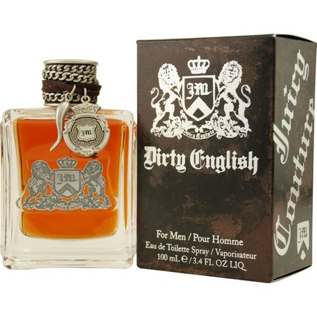 Juicy Couture Mens Dirty English Edt Spray 3.4