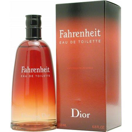 Christian Dior Mens Fahrenheit Edt Spray 6.8 Oz
