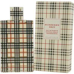 Burberry Womens Brit Eau De Parfum Spray 3.4
