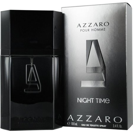 Azzaro Mens Night Time Edt Spray 3.4 Oz
