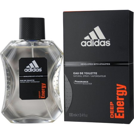 Adidas Mens Deep Energy Edt Spray 3.4 Oz