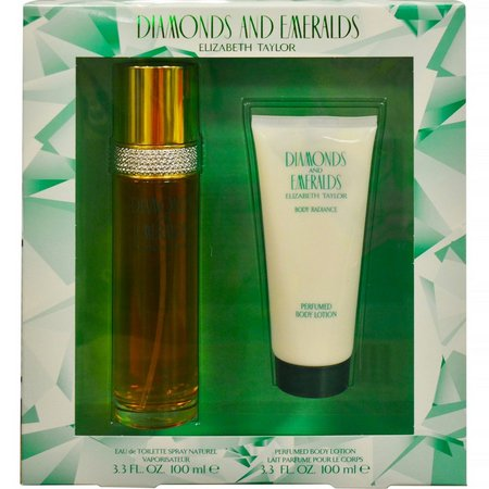 Diamonds & Emeralds Womens 2 pc Perfume Gift