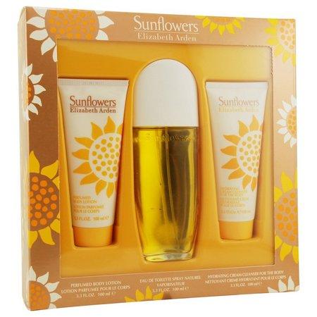 Elizabeth Arden Womens Sunflowers 3 pc Perfume Set
