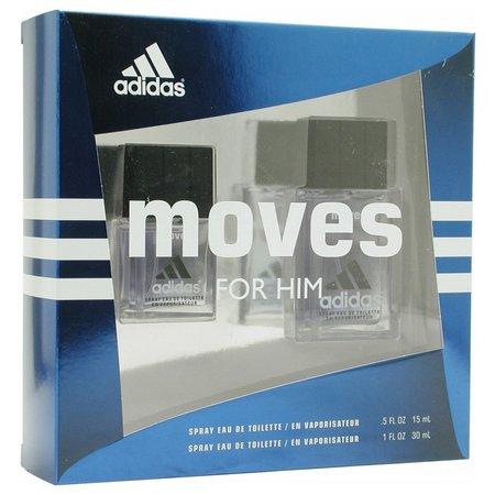 Adidas Mens Moves 2 pc Cologne Gift Set