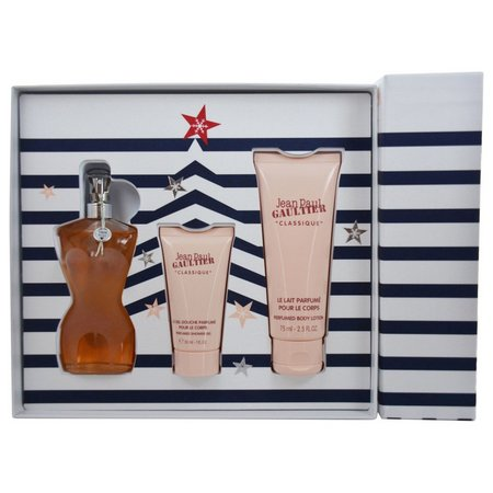 Jean Paul Gaultier Womens 3 pc Perfume Gift